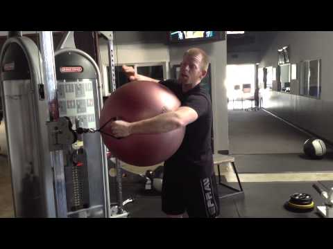 Core Exercise: Cable Standing Rotation