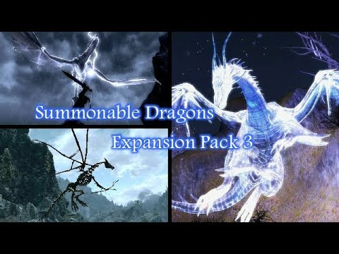 Skyrim Mods Imperial Agents Summonable Dragons Expansion Pack 3