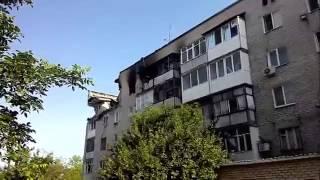 Марьинка после атаки укропвояк(арьинка после атаки украинской армии. По крайней мере четыре мирных жителей погибли в результате обстрела..., 2014-07-12T10:43:18.000Z)