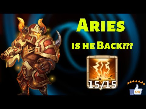 Aries | Skill 15 | Is He Still Usable??? | Castle Clash