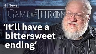 George R. R. Martin: Game of Thrones to have 'a bittersweet ending' | Channel 4 News