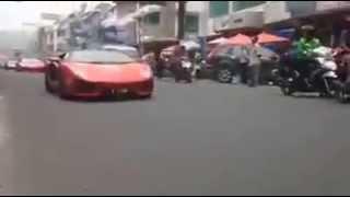 Lamborghini jakarta Hadir di kota medan