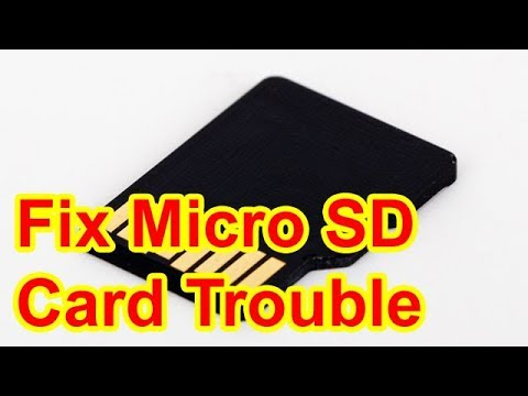 How Repair Micro SD Card Not Detected on Android Phone or PC Computer Mac  Recognized Fix