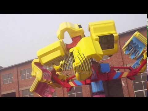 Thrilling entertainment amusement equipment Energy storm rides