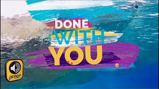 G. Voudouris -  Done With You (Official Lyric Video) Video