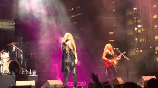"Vixen ""on the edge of a broken heart"" Las Vegas 10/2/15"