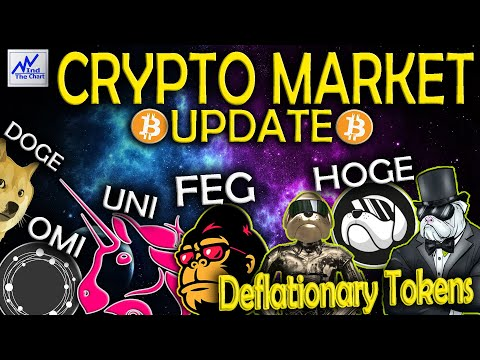 CRYPTO MARKET | BTC+ADA | FOMC | ECOMI+UNISWAP |  FEG+HOGE TOKEN DEFLAZIONISTICI MEME