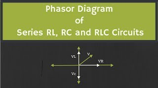 Phasor Diagram of RL, RC and RLC Circuits (with Examples)