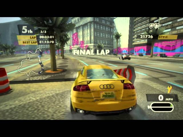 Need for Speed: Nitro (Wii) HQ 60fps Gameplay