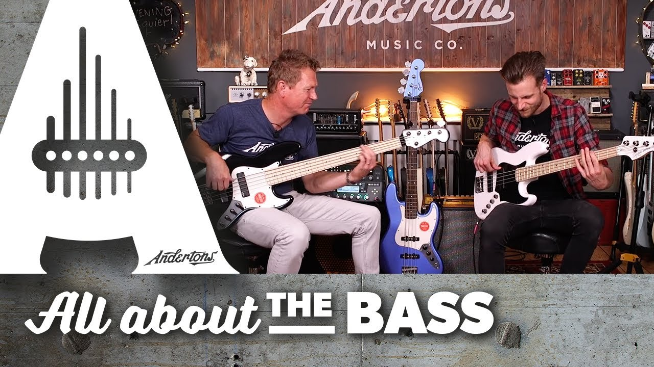 bcdc6b881 New Squier Contemporary Basses - Andertons Music Co. - YouTube