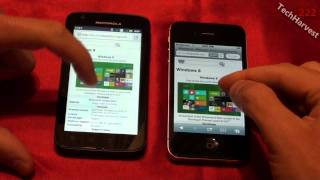 Apple iPhone 4S vs Motorola Atrix 4G (part 2)