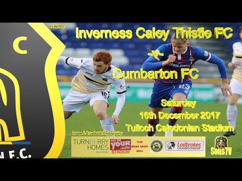 Inverness Caley Thistle FC v Dumbarton FC, 16th December 2017