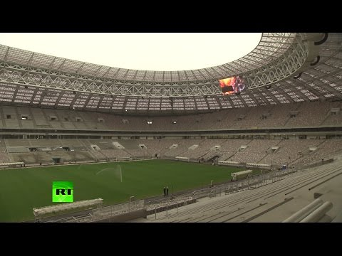 Представители британской футбольной полиции осмотрели московский стадион «Лужники»