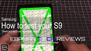 Does your s9 have dead touch zones?  This is how to test it on the Samsung Galaxy S9 and S9+