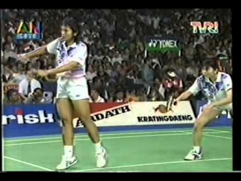 Final Uber Cup di Jakarta (Indonesia VS China) @ ANteve/TVRI 21 Mei 1994 (Part 2)