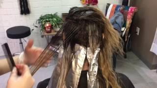 Shadow Root Balayage    Hair Tutorial