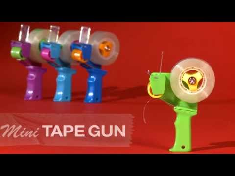 Mini Tape Gun - YouTube