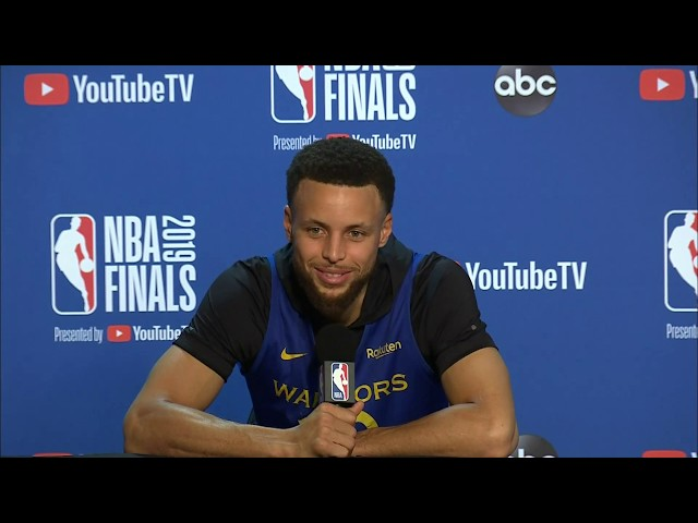 Golden State Warriors Media Availability | NBA Finals Game 6