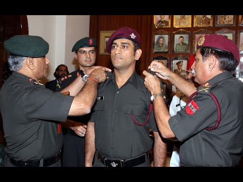 Lt Col Mahendra Singh Dhoni Practising Military Guns And Skills Full |HD