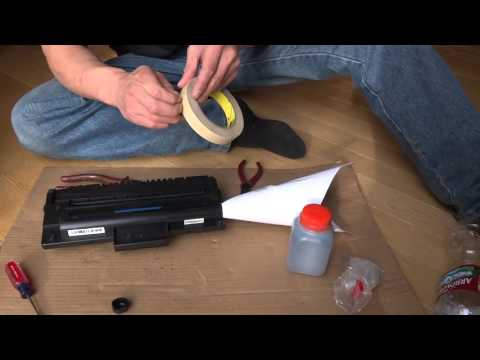 4 Easy Steps To Refill Laser Toner Cartridges Cheaply And Cleanly