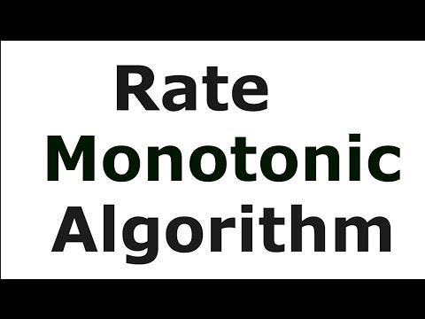 Rate Monotonic Algorithm - Example