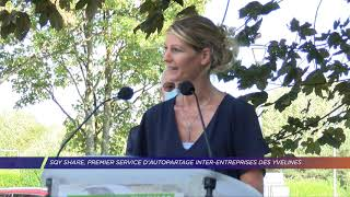 Yvelines | SQY Share, premier service d'autopartage inter-entreprise des Yvelines