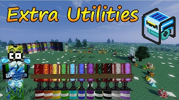 Extra Utilities 2 Tutorial Part 1 [2020] [Minecraft Mod]
