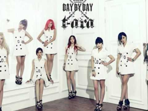 T-ARA DAY BY DAY Male Version (MP3 + DL)