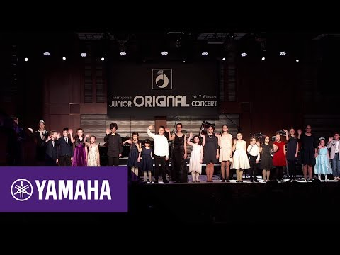 10th European Junior Original Concert in Warsaw | Music School | Yamaha Music | Polski