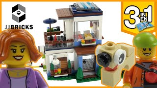 Lego Creator Modular Modern Home 31068 Unboxing, Build, and Review -4K-