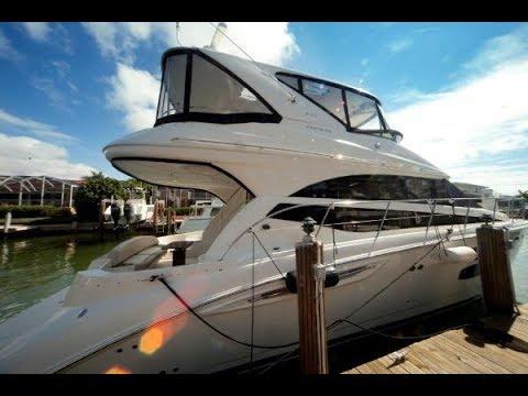 2011 Meridian 441 Sedan Bridge For Sale at MarineMax Naples Yacht Center