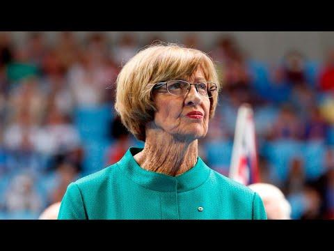 Tennis Australia 'more proud of gender neutral toilets' than Margaret Court