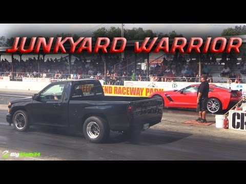 """Spare Parts"" 800+HP Turbo Truck! Chevy Colorado Built Entirely with Leftover Stuff"