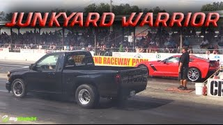 """""""Spare Parts"""" 800+HP Turbo Truck! Chevy Colorado Built Entirely with Leftover Stuff"""
