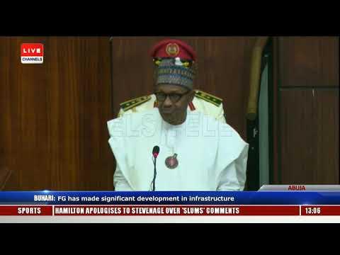 2019 Budget Presentation Buhari Addresses Joint Session Of NASS Pt.3 |Live Event|