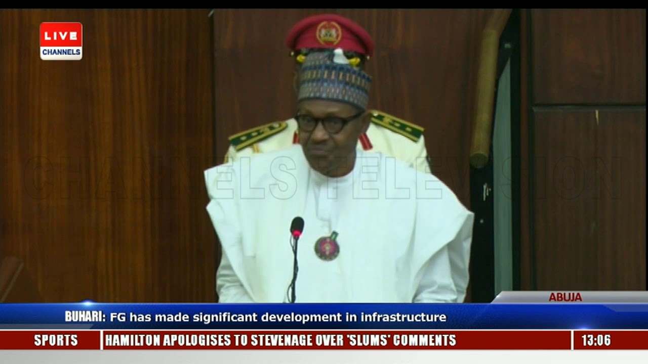 2019 Budget Presentation Buhari Addresses Joint Session Of NASS Pt.3 |Live Event|