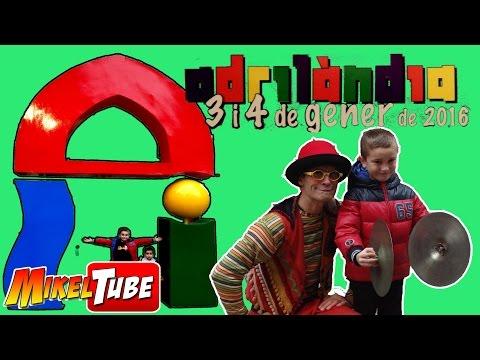 Un día en ADRILANDIA  el festival Infantil de San Adrian  Mikel Tube canal en Español