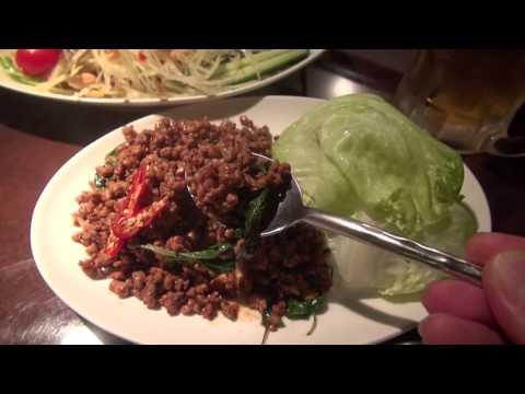 Thai dishes without Pad Thai タイ料理のスコンターでパッタイを食べないとは อาหารไทย:Gourmet Report グルメレポート