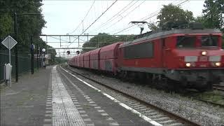 Treinen in Amsterdam Beverwijk Hoorn Santpoort en Utrecht 16 08 2019