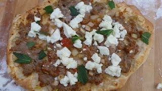Turkish Pizza Lahmacun Or Lahmajun With A Twist
