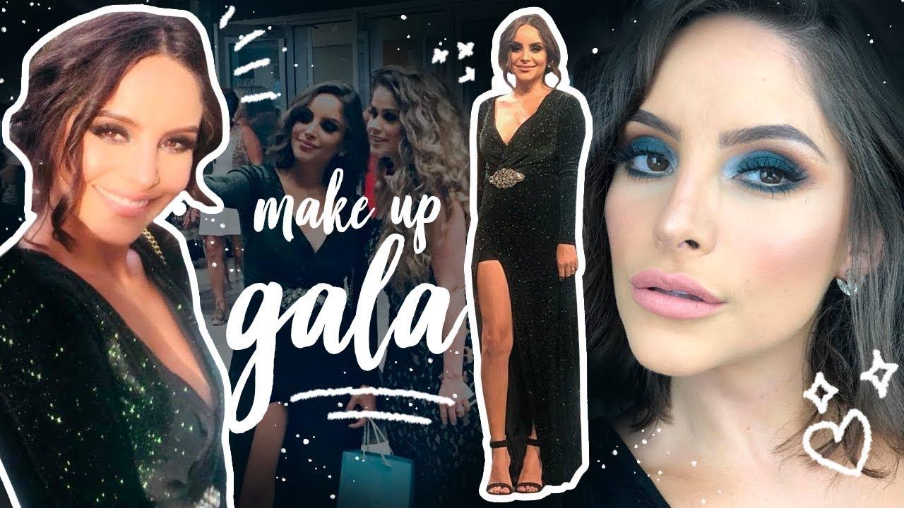 Maquillaje para vestido negro de gala