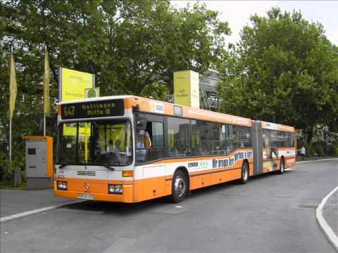 [Sound] Bus Mercedes O 405 GN2 (Wagennr. 9761) der WSW mobil GmbH, Wuppertal