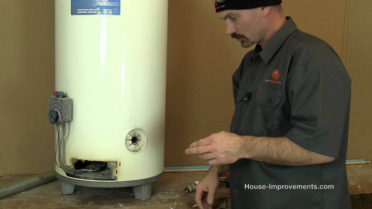How To Replace A Water Heater Drain Valve - YouTube