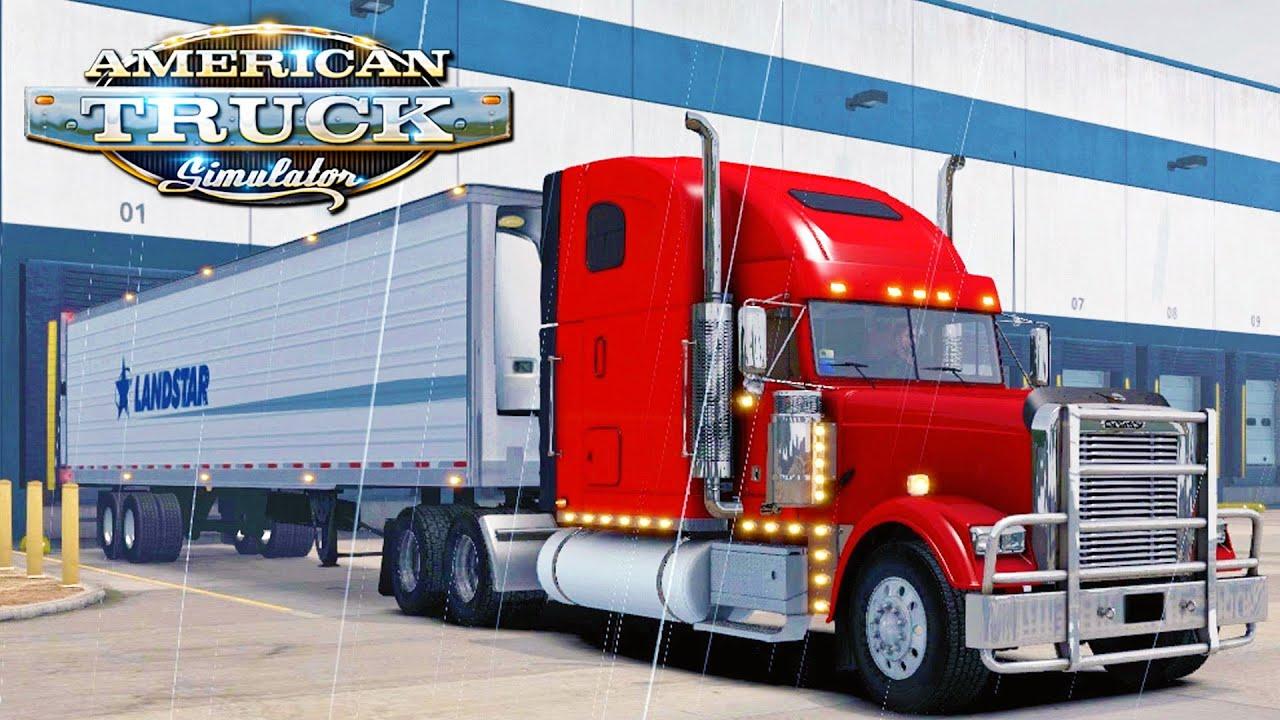 american truck simulator 15 flying train youtube. Black Bedroom Furniture Sets. Home Design Ideas
