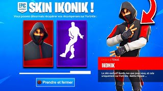 "VOICI 3 METHODS TO HAVE THE SKIN ""IKONIK"" FREE ON FORTNITE! (PS4, XBOX, PC, SWITCH)"
