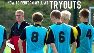 How To Have a Successful Tryout | Impress Coaches and Scouts | Mental Training Episode 3