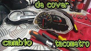 cambio de cover del tacometro parte 1 // discover 150 pro