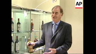 150 year old bottle of whisky could make thousands at auction