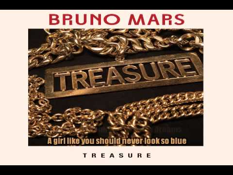 Bruno Mars - Treasure (Lower Key Karaoke)