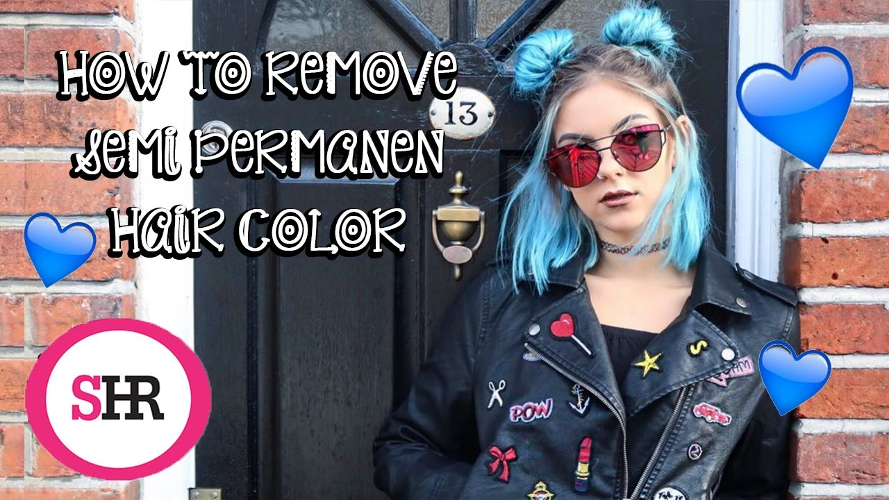 How To Remove SEMI PERMANENT Hair Color | Sophie Hannah Richardson